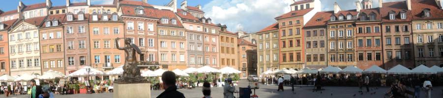Warschuer Marktplatz 2014